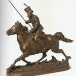 Донской казак. Скульптор Е.А. Лансере. 1880-е гг.