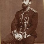 Фотопортрет князя Н.С. Щербатова, 1878. Н.С. Щербатов в 1909 – 1921 был директором Исторического музея.