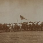 Государь наследник цесаревич Александр Александрович со свитой и конвоем в 1877 г.