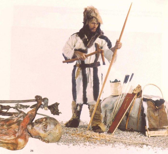 Отци - Ледяной человек (J. Guilain. Cain, Abel, Otzi. Heritage neolitique. Gallimard. 2011)