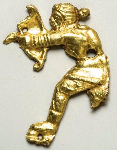 Техника изготовления античных золотых изделий