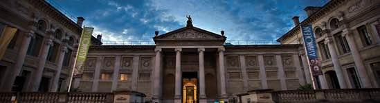 Музей Ашмолеан - фасад