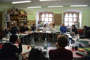 Рабочее заседание в Интерактивном классе ГИМ