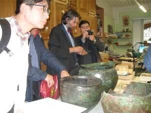 Знакомство с коллекциями в отделе археологических памятников ГИМ